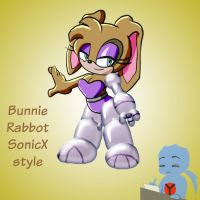 Bunnie-Rabbot DX by Y-Mangaka