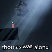 Thomas Was Alone Metro by griddark