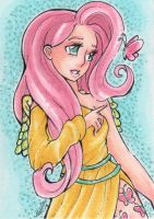 ACEO Fluttershy II by nickyflamingo