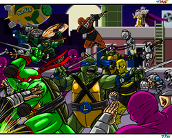 TMNT by cheddarpaladin