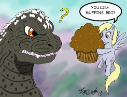 You Like Muffins? by kaijukid