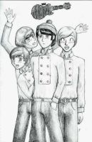 The Monkees by Emzy8706