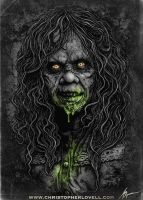 The Exorcist - By Christopher Lovell Art by Lovell-Art