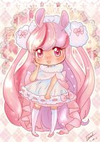 AT purin-pyon by isabelFenix