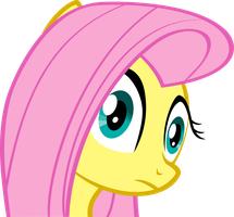 Fluttershy Reacts by Quasdar