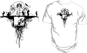 MTV Pakistan Tee Design by aash