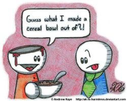 Cereal Head by AK-Is-Harmless