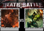 Gotrek Gurnison Vs Grom Hellscream by VitamineJJC