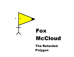 Fox McCloud the Retarded Polygon by Gypper