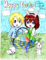 Happy Easter!! by MitsukiChan313
