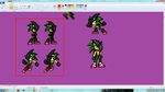 Ashura Sprites for Parrish by SpeedThePyrohog