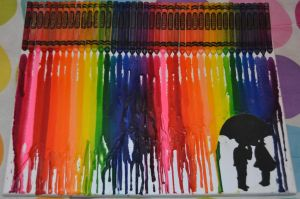 Melted Crayons by olivia808