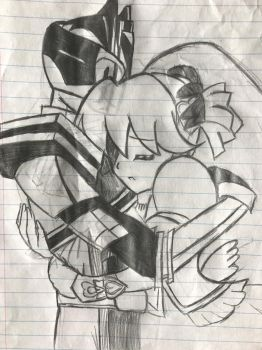 Lovely x Decade Sketch by vocaloidHM01