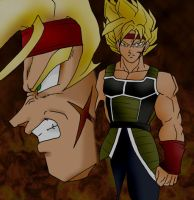 Bardock - Father of Gokou by dragonballdeviants