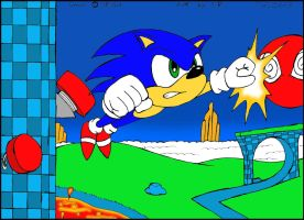 Sonic In the Hilltop Zone by Sricketts14381
