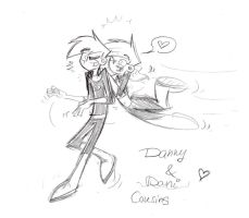 Danny and Dani - Cousins by Witneus