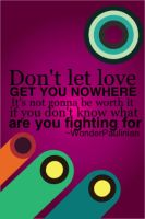 Know What You're Fighting For by WonderPaulinian