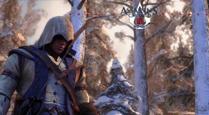Assassin's Creed III - Connor Watercolor by josetemg