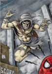 Carrion - Sketch Card by tonyperna