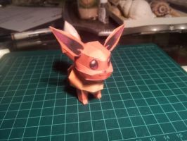Mini Eevee Papercraft by gardevoir7