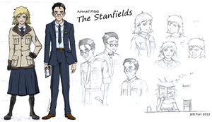 Airmail Pilots: The Stanfields by AeroJett