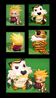 Calvin and  Hobbes Munnyworld Customs. by tripled153