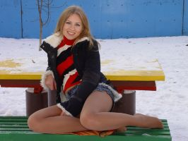 Beautiful Hottie in the Cold 1 by drknyght6