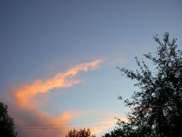 Sunset and A Cresent Moon1 by Flame22