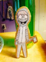 Ticci-Toby Cardboard Cut-out (OLD) by Tinyclawthecat
