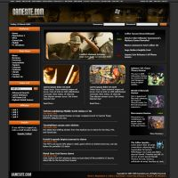 Gaming Website by zyml89
