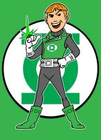 guy gardner by AlanSchell