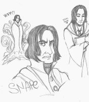 Snape sketch by martychan91