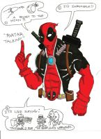 deadpool colored by lijohn321