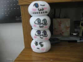 FACE mochis by InuKid