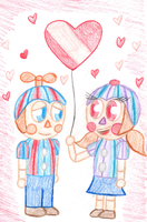 A Balloon For My Love by superpinkygirl101