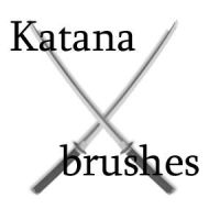 Katana brushes by SatsujinIsa