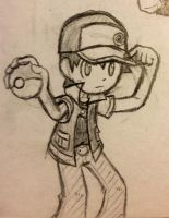 PKMN Trainer Red, would like to battle... by AgentDajo