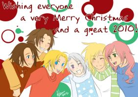 DFFC: Merry Christmas by SchizoCheese