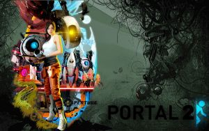 Portal 2 Wallpaper by Miggsy