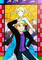 Stained Glass(Teen ver.) by TanishiCurry
