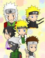 Naruto guys group by xBlackGurlx