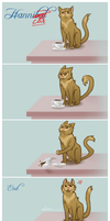 Hannicat- The Teacup Shatters by Tales-of-Torment
