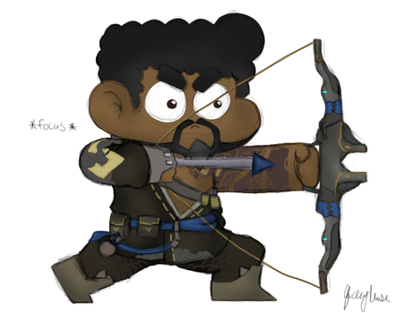 Me As Hanzo by JashawnMuse