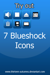 Blueshock Icons by Thirteen-Autumns
