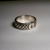 Ring with runes by SergeyGula