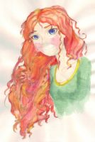Princess Merida by OminaterTheGreat