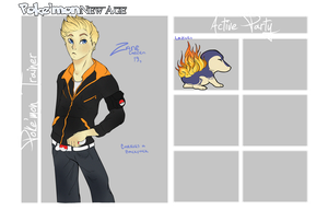 PKMN NA App: Trainer Zane by weatherstained