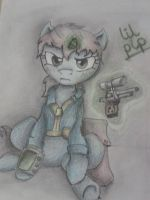 Lil Pip (with colour) by Sammy181