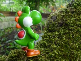 yoshi and tree by valentin-mittler