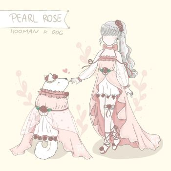 Pearl Rose - Dog/Human Matching Outfits by Demifluff